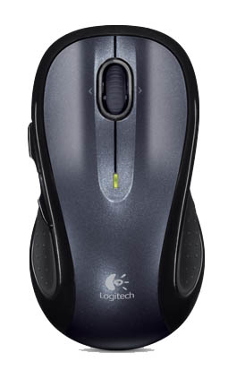 LOGITECH M510 RF WIRELESS LASER BLACK MICE