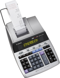 CANON MP1411-LTSC DESKTOP PRINTING SILVER CALCULATOR