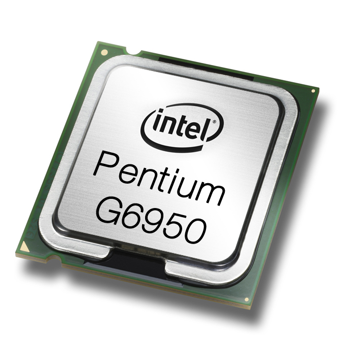 INTEL PENTIUM PROCESSOR G6950 (3M CACHE, 2.80 GHZ) 2.8GHZ 3MB L3 (TRAY ONLY PROCESSOR)
