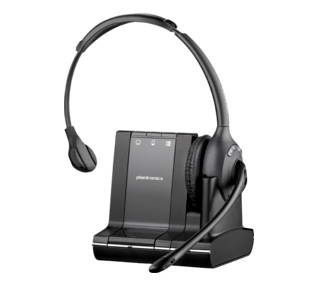 PLANTRONICS 84003-02 SAVI W710-M MONAURAL HEAD-BAND BLACK HEADSET