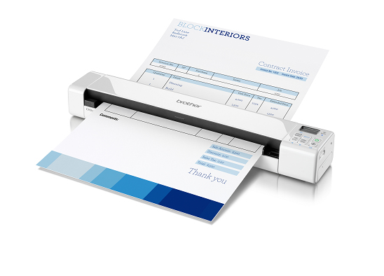 BROTHER DS-820W SHEET-FED SCANNER 600 X 600DPI A4 WHITE