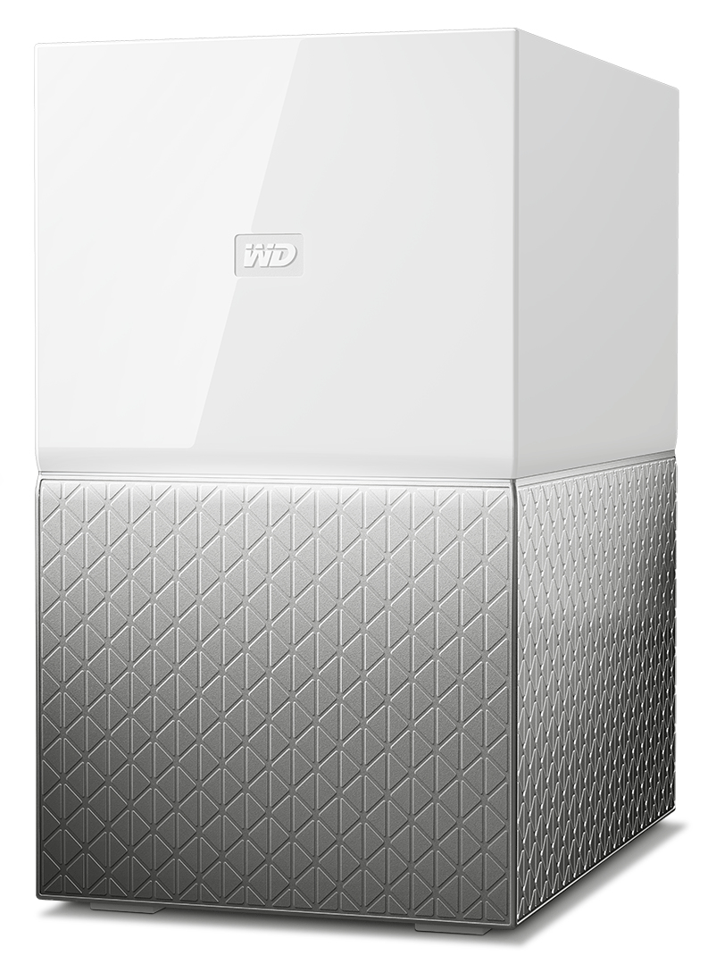 WESTERN DIGITAL MY CLOUD HOME DUO 4TB ETHERNET LAN GREY PERSONAL STORAGE DEVICE