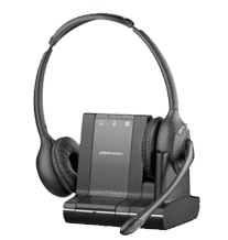 PLANTRONICS 83544-12 SAVI W720 BINAURAL HEAD-BAND BLACK HEADSET