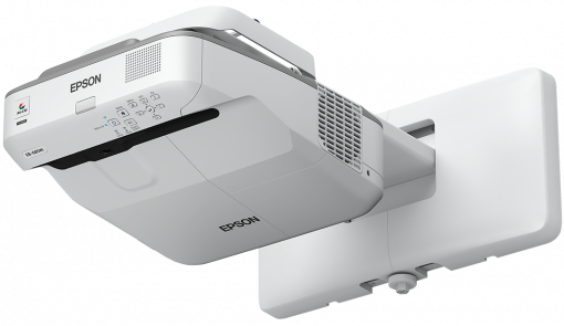 EPSON EB-685W WALL-MOUNTED PROJECTOR 3500ANSI LUMENS 3LCD WXGA (1280X800) GREY,WHITE DATA