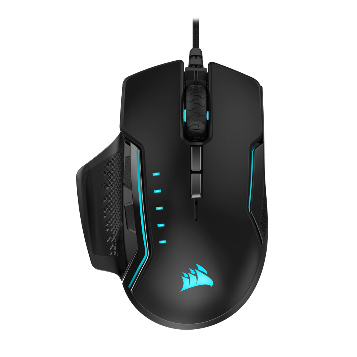 Corsair GLAIVE RGB PRO mice USB Optical 18000 DPI Right-hand