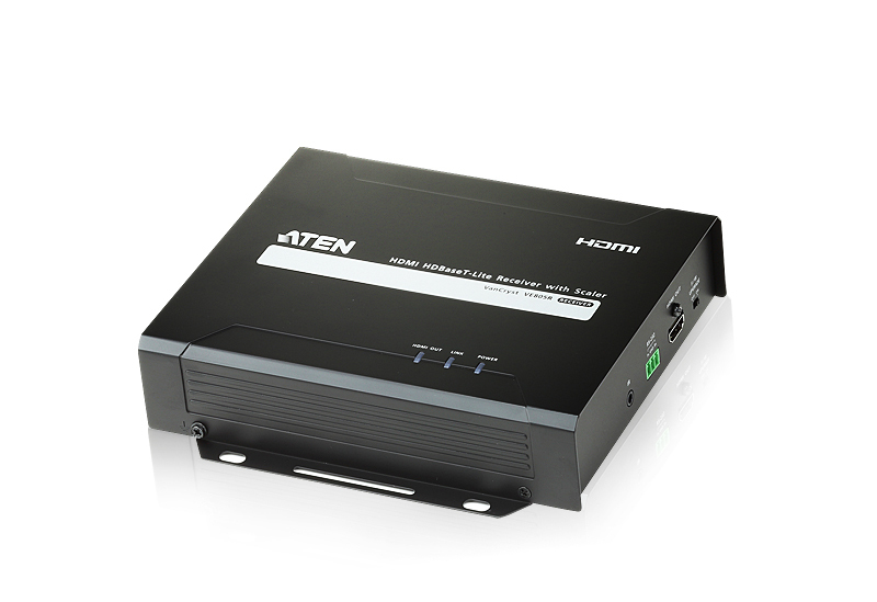 ATEN TECHNOLOGY HDMI HDBASET-LITE RECEIVER, 1080P, 60M, CAT5E/6A, 100, HDCP 1.4