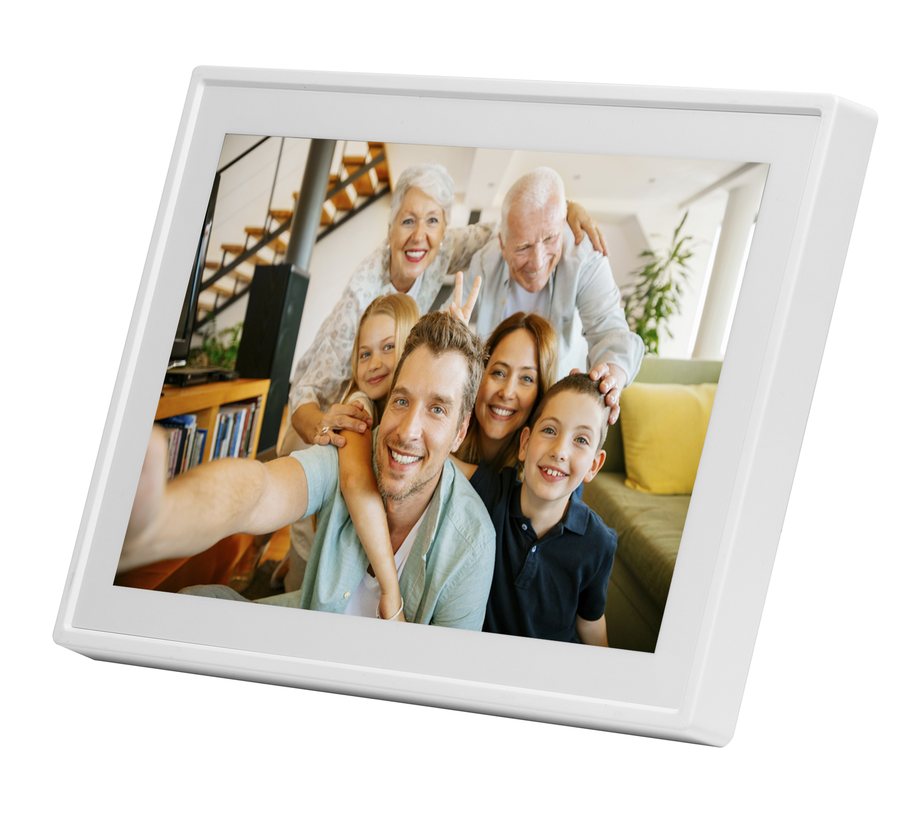 Denver Electronics PFF-711WHITE digital photo frame 17.8 cm (7