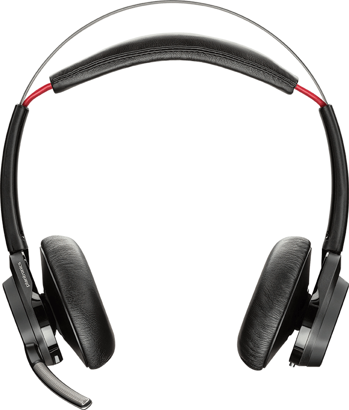 PLANTRONICS 202652-04 VOYAGER FOCUS UC B825-M BINAURAL HEAD-BAND BLACK HEADSET