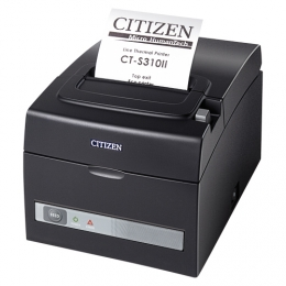 CITIZEN CT-S310II, DUAL-IF, 8 DOTS/MM (203 DPI), CUTTER, WHITE
