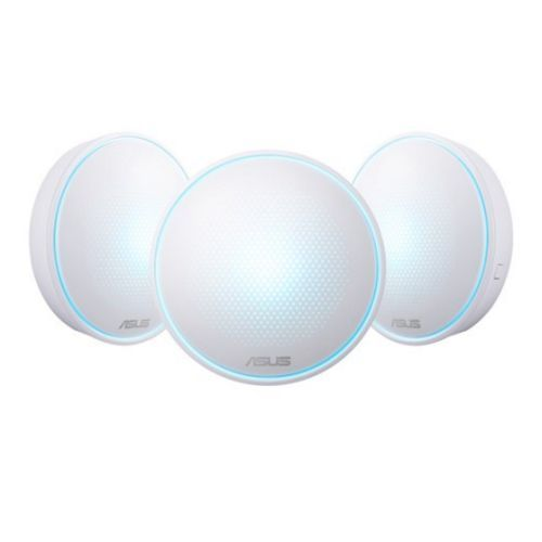 ASUS LYRA MINI (MAP-AC1300) WHOLE-HOME MESH WI-FI SYSTEM, 3 PACK, DUAL BAND AC1300, PARENTAL CONTROLS