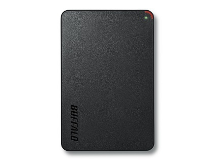 BUFFALO HD-PCF2.0U3BD-WR MINISTATION HDD 2TB 2000GB BLACK EXTERNAL HARD DRIVE