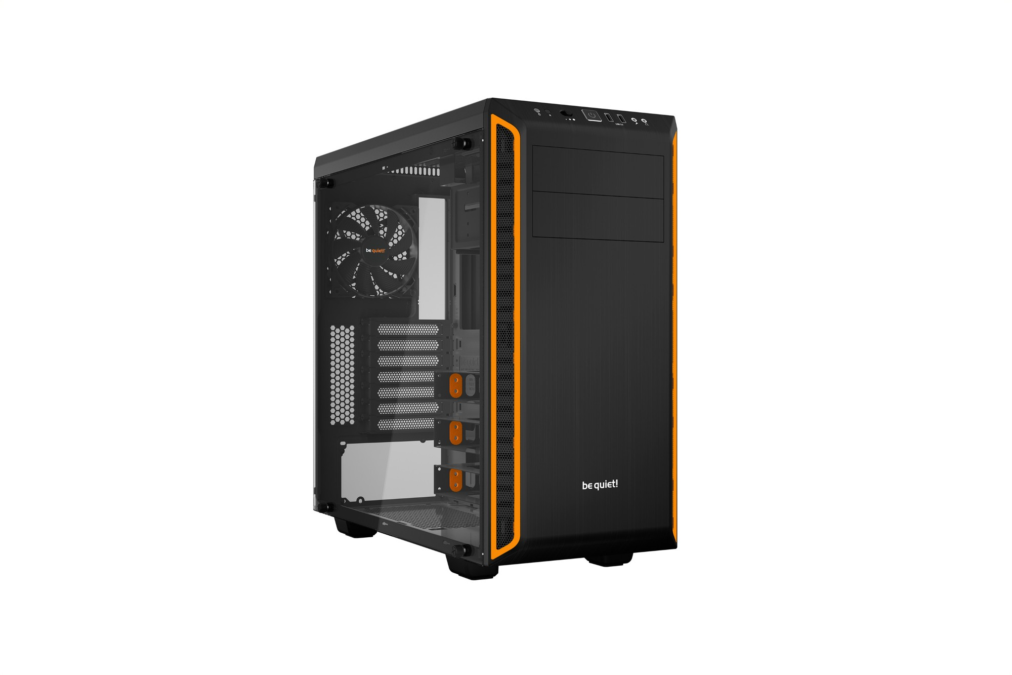 BE QUIET! PURE BASE 600 WINDOW - ATX, M-ATX, MINI-ITX, ABS PLASTIC/STEEL, 8.45KG