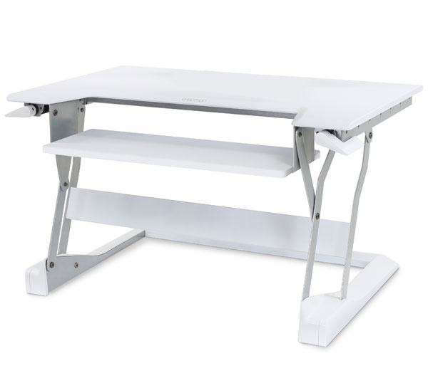 ERGOTRON 33-397-062 WORKFIT-T WHITE COMPUTER DESK