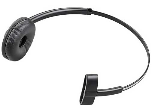 PLANTRONICS 84605-01 84605-01, MONAURAL, HEAD-BAND, BLACK, CIRCUMAURAL, SEMI-OPEN