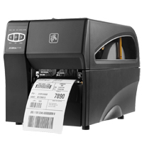 ZEBRA ZT220 THERMAL TRANS 300 X 300DPI LABEL PRINTER