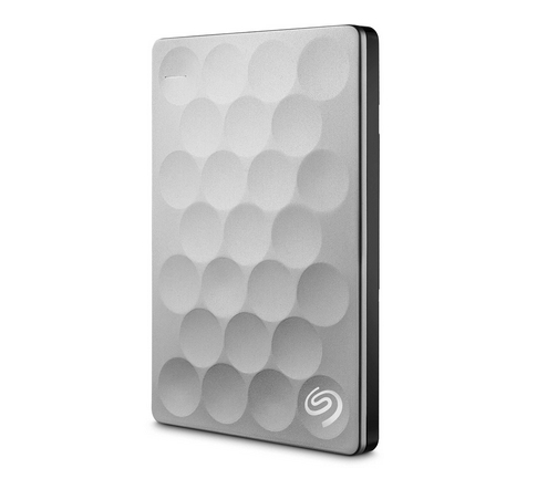 SEAGATE BACKUP PLUS ULTRA SLIM 1TB 1000GB PLATINUM EXTERNAL HARD DRIVE