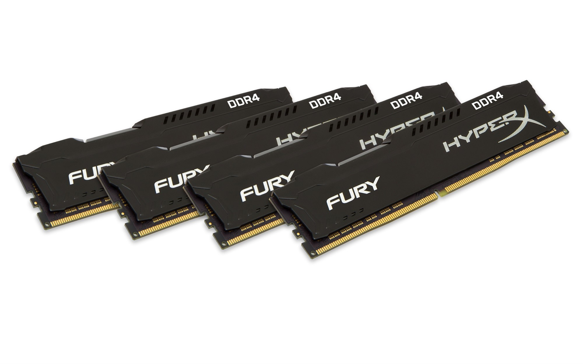 HYPERX FURY BLACK 32GB DDR4 2400MHZ KIT MEMORY MODULE
