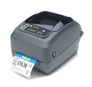 ZEBRA GX420T THERMAL TRANS 203 X 203DPI LABEL PRINTER