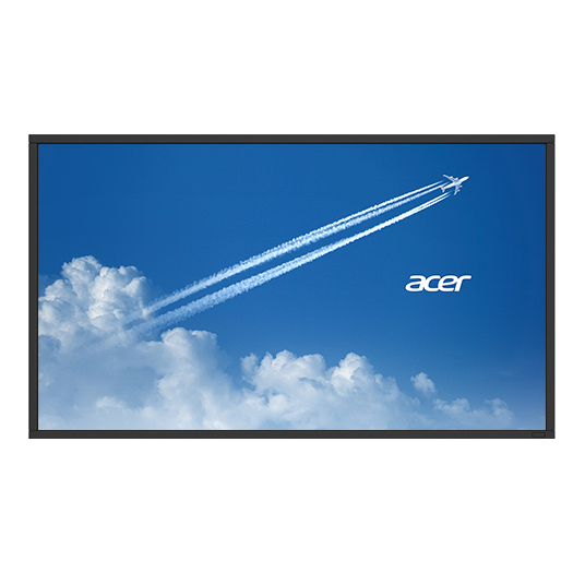 ACER DV553BMIDV DIGITAL SIGNAGE FLAT PANEL 55
