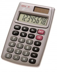 GENIE CCTV 10274 510 POCKET BASIC GREY CALCULATOR