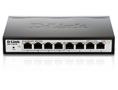 D-LINK DGS-1100-08 MANAGED NETWORK SWITCH BLACK