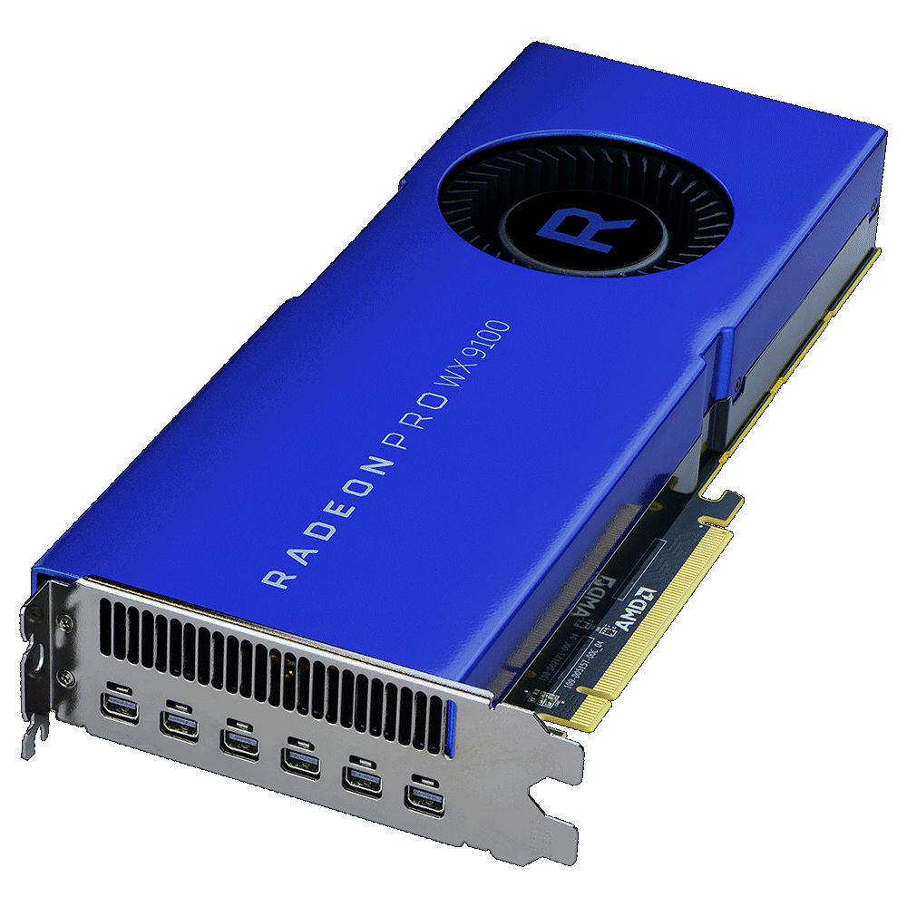 AMD 100-505957 RADEON PRO WX 9100 16GB HIGH BANDWIDTH MEMORY (HBM)