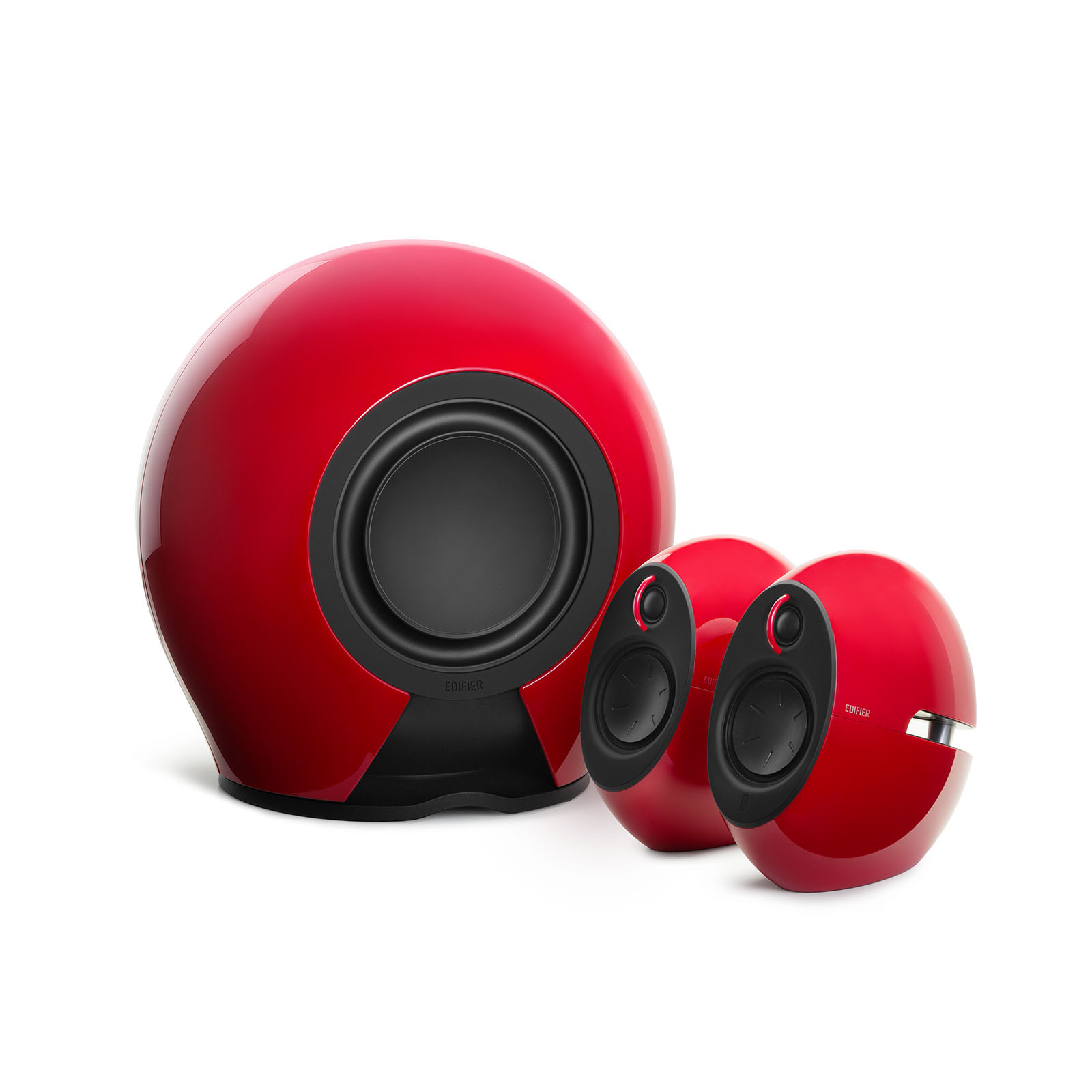 EDIFIER E235 RED 234 W, 2.1, BLUETOOTH 4.0, 3.5MM AUX,