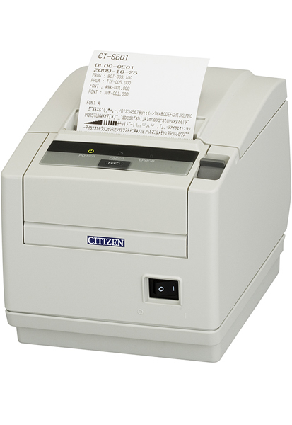 CITIZEN CT-S601II DIRECT THERMAL POS PRINTER 203 X 203DPI