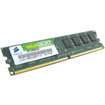 CORSAIR 1GB PC-5300 DDR2 SDRAM DIMM 667MHZ MEMORY MODULE