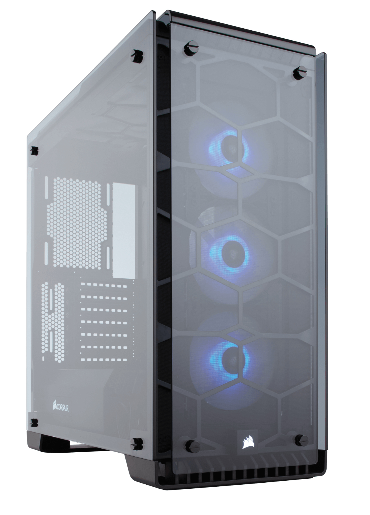 CORSAIR CRYSTAL 570X MIDI-TOWER BLACK,TRANSPARENT COMPUTER CASE