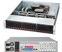 SUPERMICRO CSE-216BE1C-R920LPB 2U SILVER SERVER BAREBONE