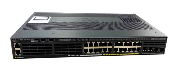 CISCO WS-C2960X-24TS-LL CATALYST MANAGED L2 - L3 GIGABIT ETHERNET BLACK NETWORK SWITCH