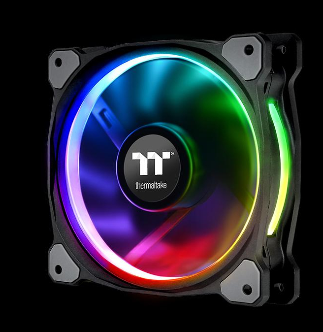THERMALTAKE CL-F053-PL12SW-A RIING PLUS COMPUTER CASE FAN