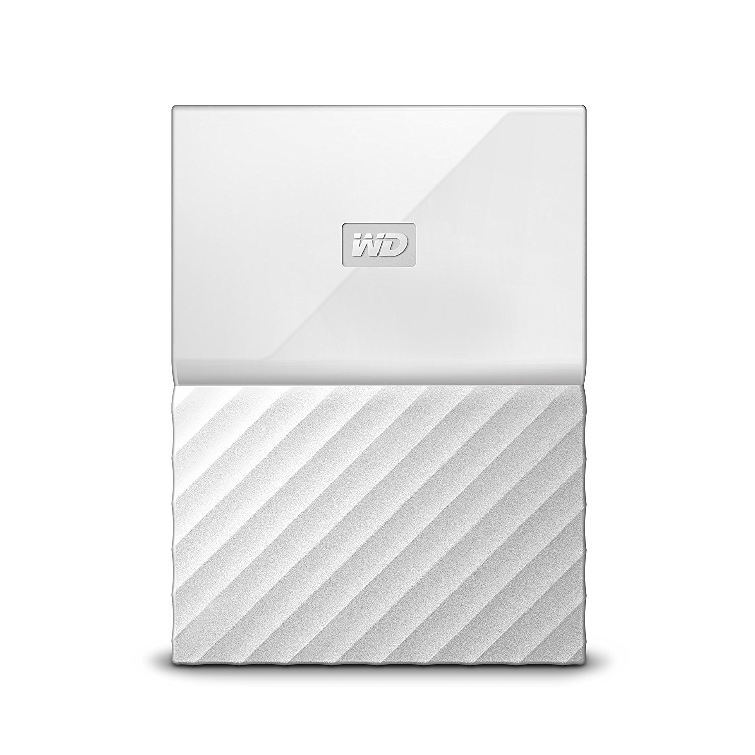 WESTERN DIGITAL MY PASSPORT 2000GB WHITE EXTERNAL HARD DRIVE