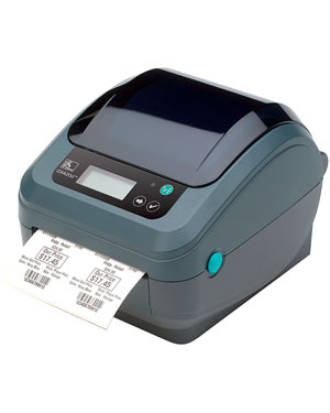 ZEBRA GX420T DIRECT THERMAL / TRANS 203 X 203DPI LABEL PRINTER
