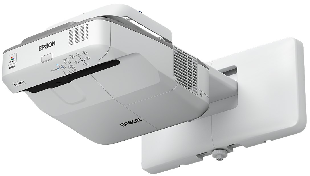 EPSON EB-695WI WALL-MOUNTED PROJECTOR 3500ANSI LUMENS 3LCD WXGA (1280X800) GREY,WHITE DATA