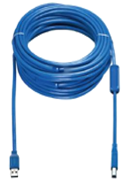 VADDIO 440-1005-008 8M USB A B MALE BLUE CABLE