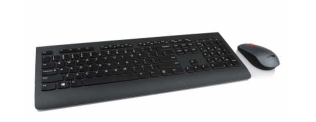 LENOVO 4X30H56828 RF WIRELESS QWERTY UK ENGLISH BLACK KEYBOARD