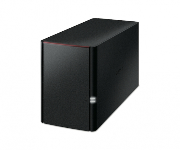 BUFFALO LS220D0202-EU LINKSTATION 220, 2TB STORAGE SERVER ETHERNET LAN BLACK