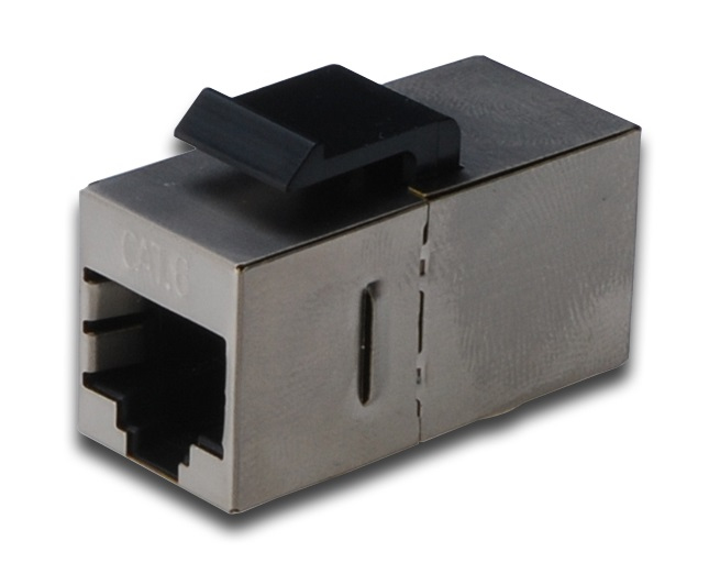 DIGITUS DN-93613-1 CAT6 MODULAR COUPLER, SHIELDED