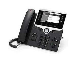 CISCO CP-8811-3PCC-K9= 8811 WIRED HANDSET LCD BLACK IP PHONE