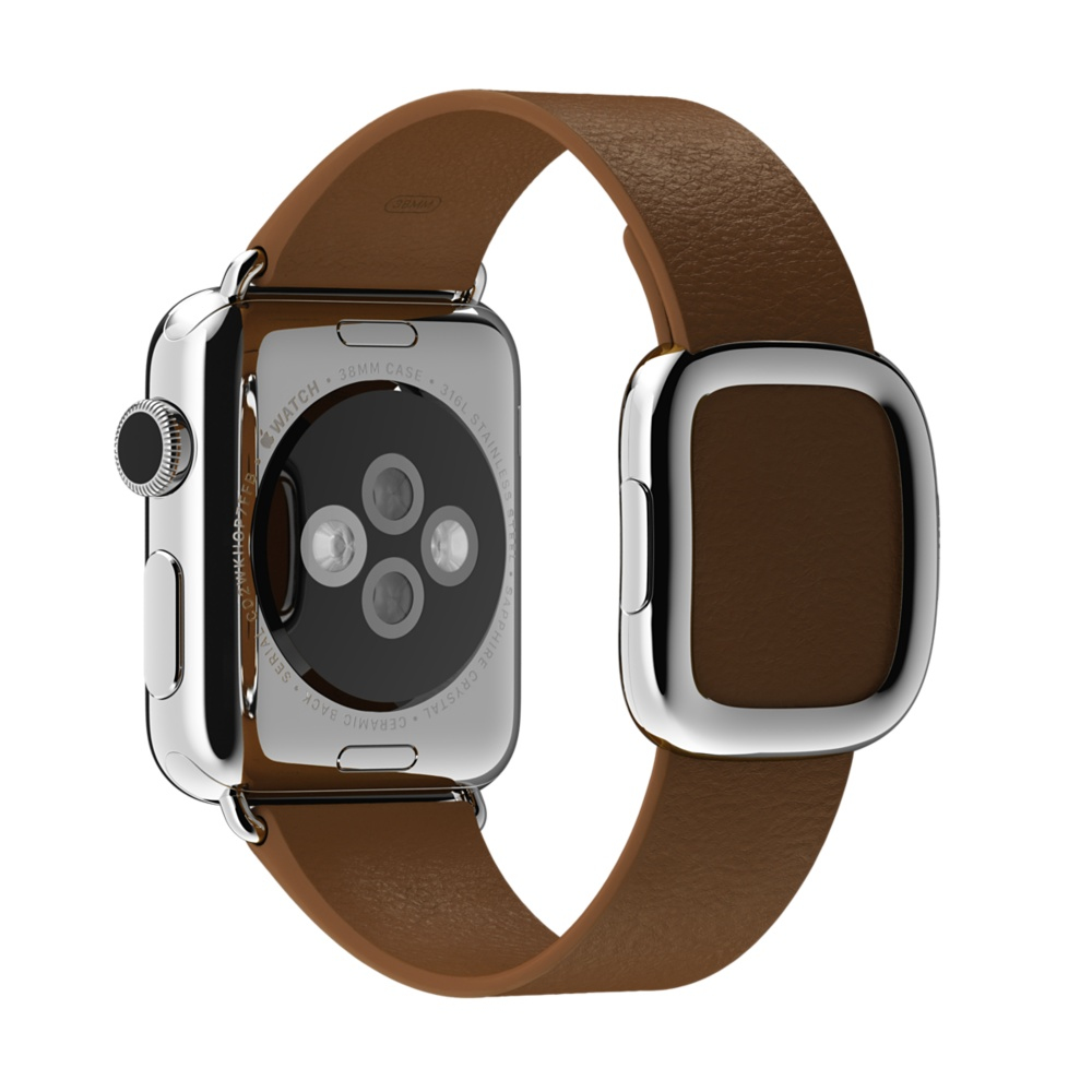 APPLE MJ552ZM/A BAND BROWN LEATHER