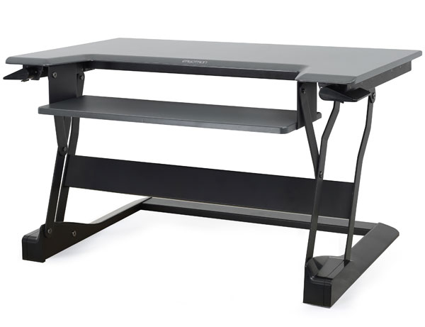 ERGOTRON 33-397-085 WORKFIT-T BLACK COMPUTER DESK