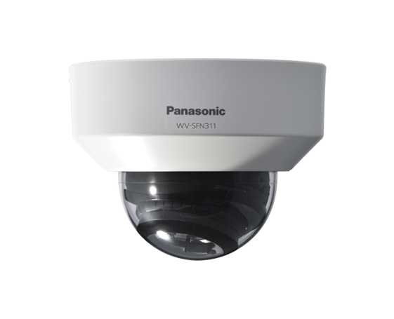 PANASONIC WV-SFN311L IP SECURITY CAMERA INDOOR & OUTDOOR DOME WHITE 1280 X 720PIXELS