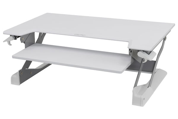 ERGOTRON 33-406-062 WORKFIT-TL WHITE COMPUTER DESK
