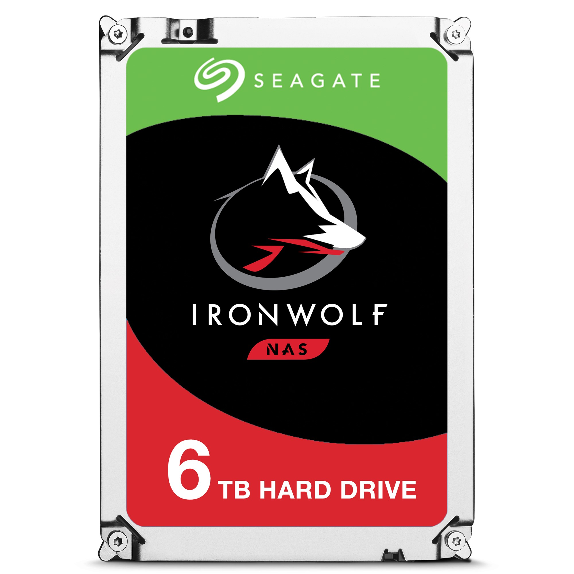 SEAGATE IRONWOLF ST6000VN0033 6000GB SERIAL ATA III INTERNAL HARD DRIVE
