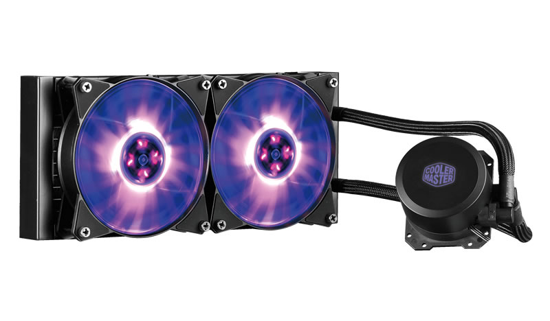 COOLER MASTER MASTERLIQUID ML240L RGB PROCESSOR LIQUID COOLING