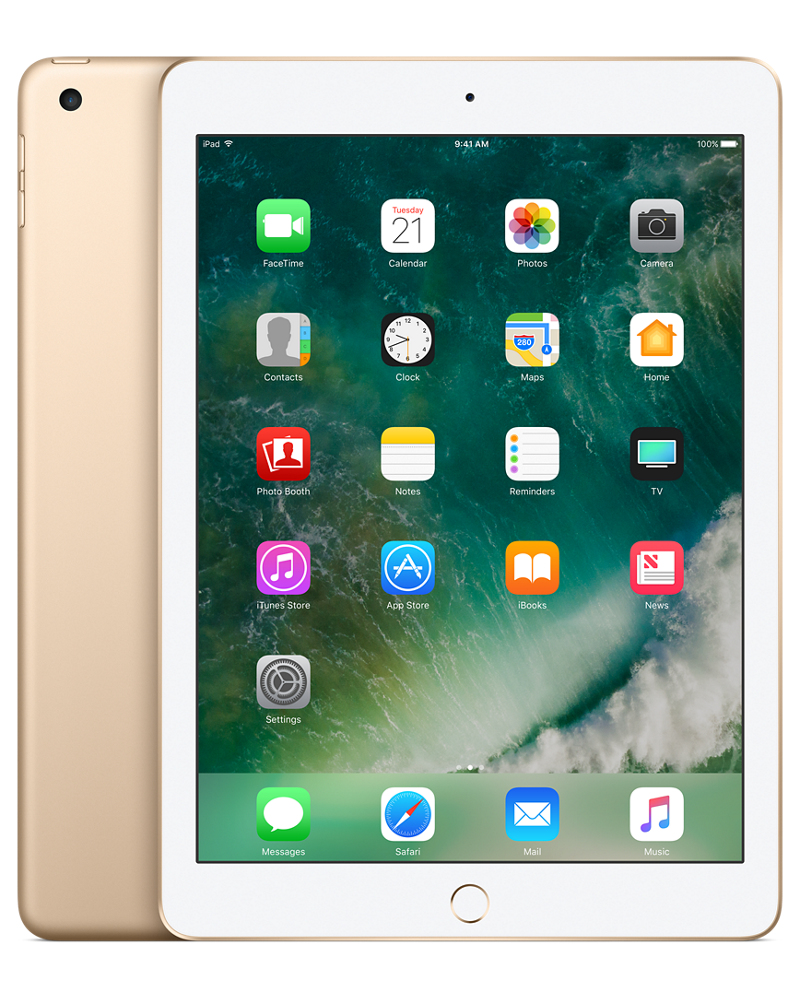 APPLE IPAD 128GB GOLD TABLET