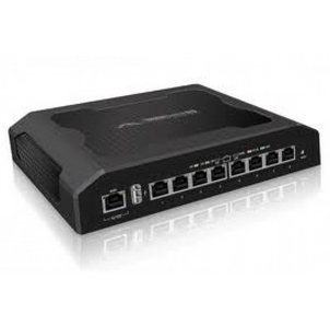 UBIQUITI NETWORKS TS-8-PRO GIGABIT ETHERNET POWER OVER (POE) BLACK NETWORK SWITCH