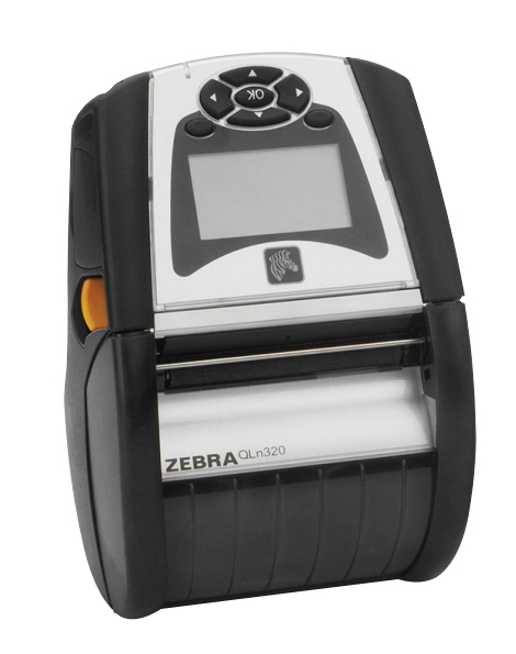 ZEBRA QLN320 DIRECT THERMAL MOBILE PRINTER 203 X 203DPI